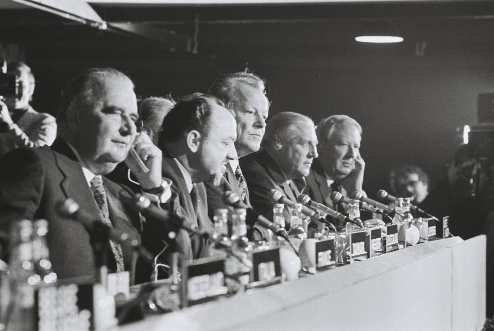 Topmøde i København, december 1973